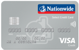 Nationwide Select Credit Card Visa