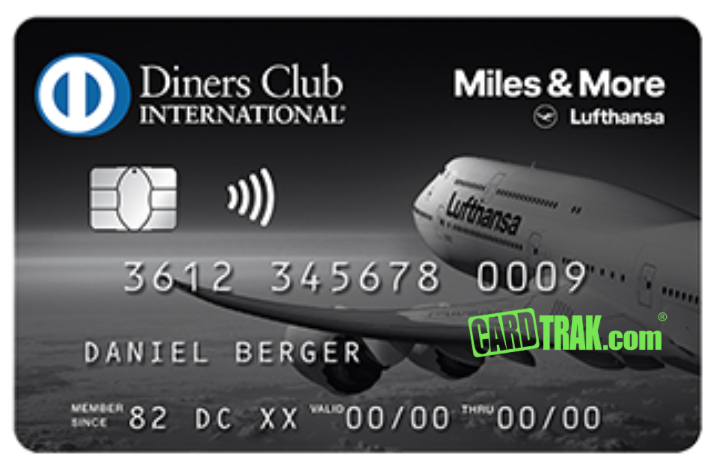 Miles & More Diners Club Card